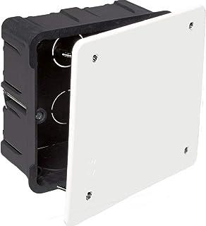 Solera 362 - Caja 100x100x45 tapa blanco con tornillos: Amazon.es: Bricolaje y herramientas