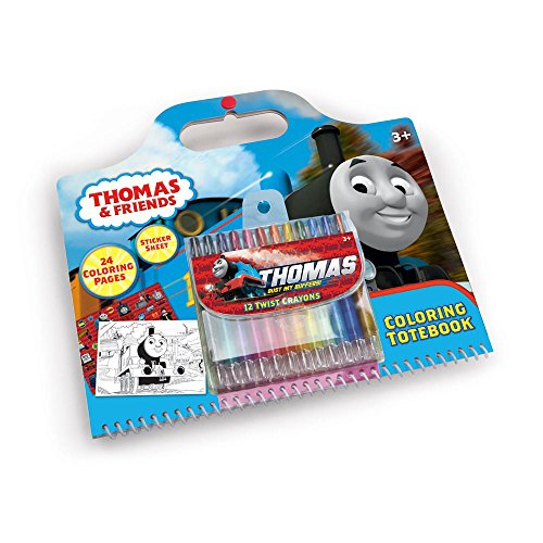 Thomas & Friends Activity Coloring Tote Book with Sticker...