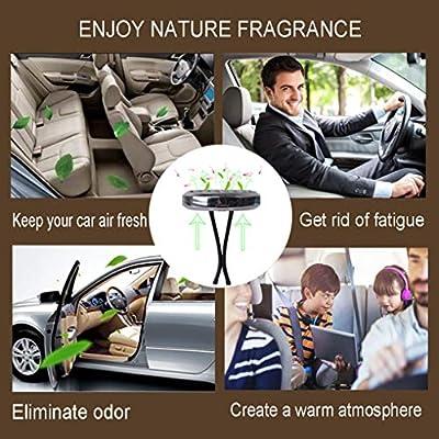 CHIDRA Orchid Flower Car Essential Oil Diffuser,1.2