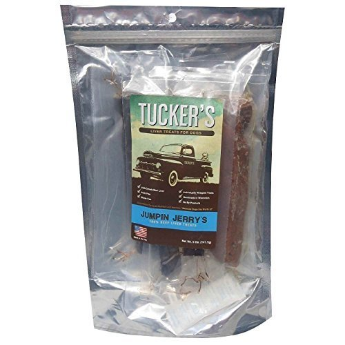 Image of Tucker's Jumpin' Jerry's USA Beef Liver Individually Wrapped Grain-Free Treats For Dogs, 5oz