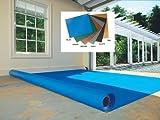 G-Floor Ribbed Garage Floor Covering, Color Option: Tan