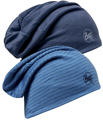 98dccd193be Amazon.com  Buff Headwear Reversible Merino Wool Hat-Denim  Sports ...