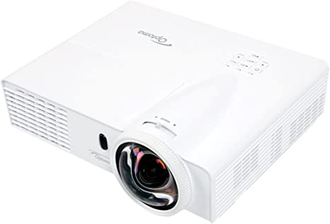 Optoma W303ST Full 3D WXGA 3000 Lumen DLP Short Throw Projector with 18,000:1 Contrast Ratio