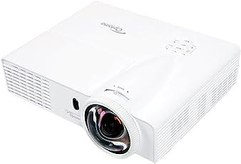 Optoma W303ST Proyector WXGA, Tiro Corto, 3000 Lúmenes, Full 3D, 1x HDMI, 2X VGA, Display Port