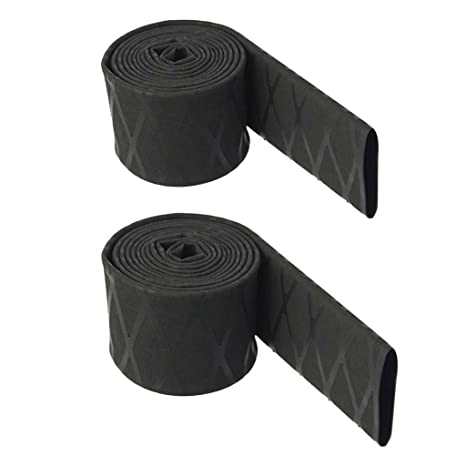 2 Pieces Heat Shrink Tubing X-Tube Fishing Rods Handle Grips Sleeving Wrap