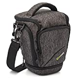 Camera Case, Evecase Top Load Digital SLR/DSLR Camera Shoulder Bag Rain Cover Weather
