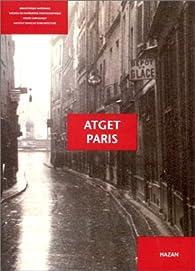 Atget-Paris par Laure Beaumont-Maillet