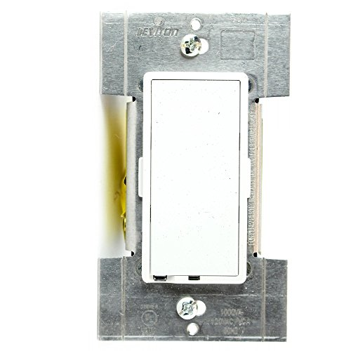Leviton TTM10-1LZ, True Touch Preset Digital 1000VA, 800W, Magnetic Low Voltage Dimmer, Single Pole and 3-Way, White/Ivory/Light Almond