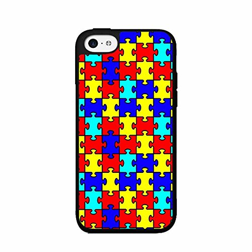 Turbo Delivery LLC Autism awareness puzzle RibbonRubber Case for Apple iPhone 7 Plus (5.5