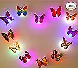 interesting patio gardens design ideas 10 PCS Decoration Butterflies LED Flashing Lighting (Butterfly) Light Up Night Light in The Dark Butterflies
