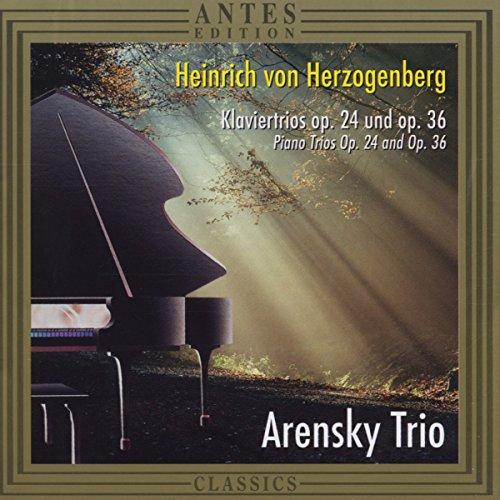 Piano Trio 1 Op 24 / Piano Trio 2 Op 36 ()