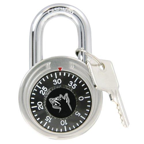 Black Dog 55154 Combination Padlock Keyed Control Keyed Alike, 1-7/8 Inch