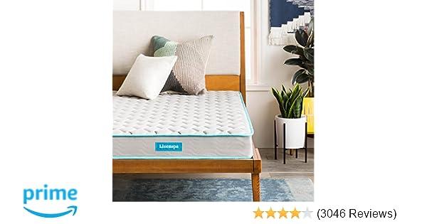 Amazon.com: Linenspa 6 Inch Innerspring Mattress   Twin: Kitchen U0026 Dining