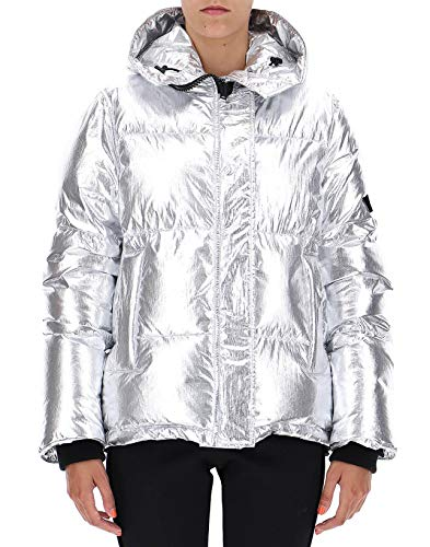 Kenzo Poliammide Donna Giacca F862bl074582ag Outerwear Argento rSwBqS0T6