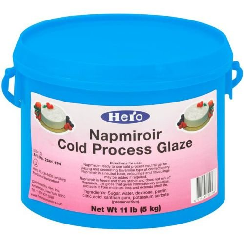 Hero Napmiroir Cold Process Glaze, 11 Pound - 1 each.