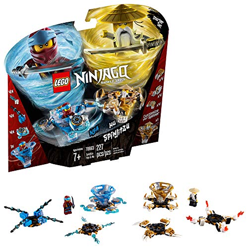 LEGO Ninjago Spinjitzu NYA & Wu 70663 Building Kit , New 2019 (227 Piece) -