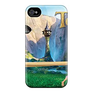 Tpu Shockproof/dirt-proof Tangled Movie Cover Case For Iphone(5/5s)