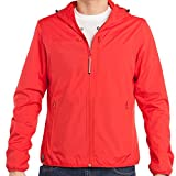 Baubax Travel Jacket - Windbreaker - Male - Red - Medium