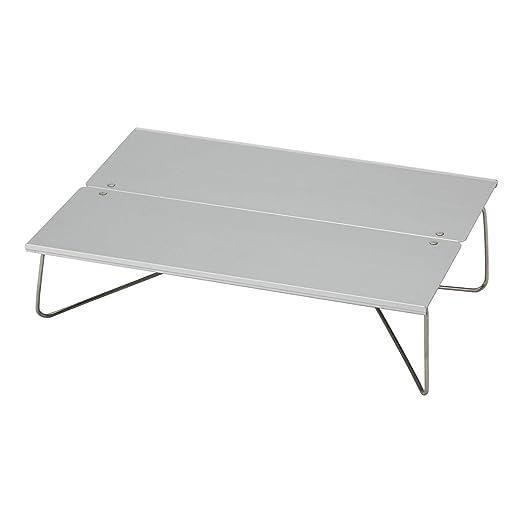 EmmmE Mesa Plegable Exterior, Mesa Plegable de Aluminio, Mesa de ...