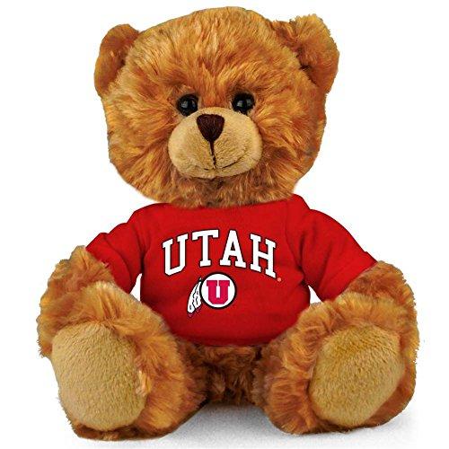 "Support University - Plushland NCAA Collegiate Jersey Bear 6"" – Team Sports Vivid Clear Color Toy, Stuffed Animals Toy, State University, School Logo Kids, Bulk Parties Edition (Utah Utes)"