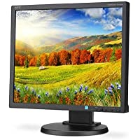 NEC MultiSync EA193Mi 19 Desktop LED Monitor with IPS Panel and Integrated Speakers, 1280x1024, 250 cd/m2, 1000:1 Contrast Ratio, 6ms Response Time