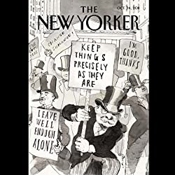 The New Yorker, October 24th 2011 (Jerome Groopman, David Sedaris, Caitlin Horrocks)