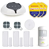 Golden Security Home Alarm System 2G / WIFI with Alexa , Auto Dial, APP remote control, Compatible with other Golden Security Accessories S1-Plus