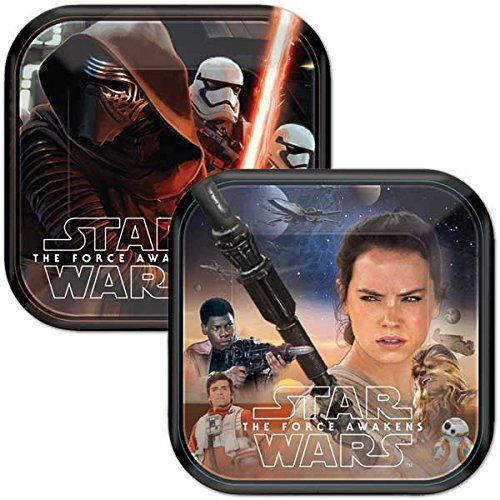 24 Count Star Wars Disney Dessert Paper Plates