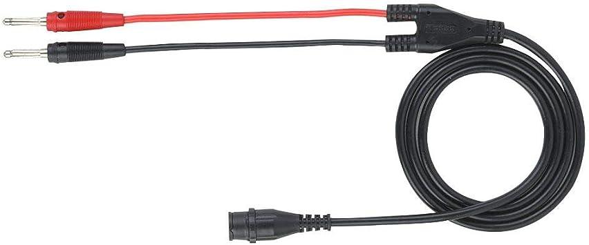 Cable coaxial Samfox, enchufe macho BNC a Cable Coaxial de Prueba de Osciloscopio de Enchufe tipo Banana: Amazon.es: Bricolaje y herramientas