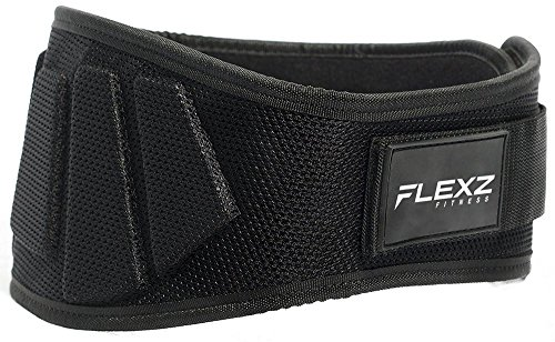 "Weightlifting Belt for squats, exercise, heavy lifting, crossfit, deadlifts, | 6"" back support for Men and Women"