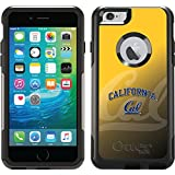 Uc Berkeley - Cal Watermark Yellow design on Black OtterBox Commuter Series Case for iPhone 6 Plus and iPhone 6s Plus
