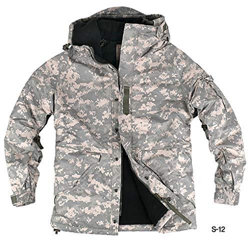 0551abbf8e myglory77mall Mens Camouflage Hooded Weatherproof Winter Snowboard Ski  Jacket