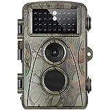 Bobury 12MP Hunting Camera Full HD Trail Camera Infrared Wildlife Cam Night Vision IP56 Waterproof Game Cam