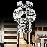 Modern Chrome Crystal Ceiling Lights Lamp Fitting Pendant Chandelie