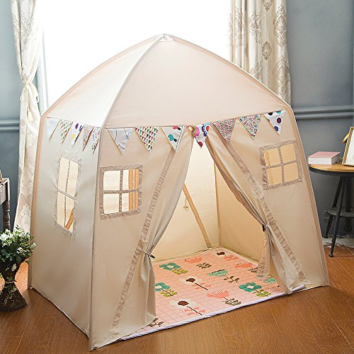 Amazon.com: love tree Kids Indoor Princess Castle Play Tents ...