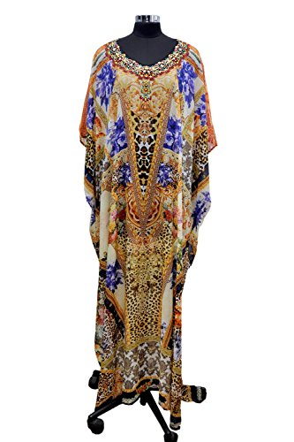 Beach Kaftan Dress for Beaded/one Piece Jeweled Full Length Kaftan/Long Kaftans/Luxury Resort wear Caftan Plus 207