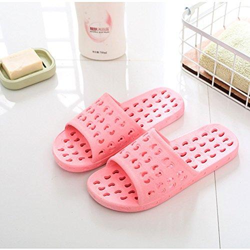 douche Chaussures antidérapant Chaussons salle plage de bain Femme de 4 de 5 de l'été us6 Sandales 3 Chaussons NACOLA women for Out l'eau pour 6 creux de 5Yqw66Zp