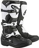 Alpinestars Tech 3 Men's Off-Road Motorcycle Boots - Black/White / 12