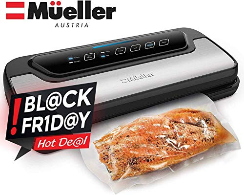 Vacuum Sealer Machine By Mueller | Automatic Vacuum Air Sealing