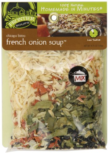 Frontier Soups Homemade In Minutes Soup Mix, Chicago Bistro French Onion, 4.75 - Orleans French New Bread