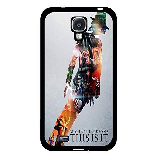 Custom Dance Step Michael Jackson Phone Case Cover for Coque Samsung Galaxy S4 I9500 MJ Cover,Cas De Téléphone