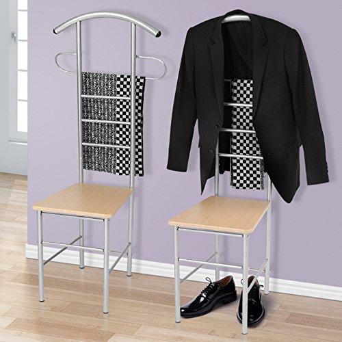 Herrendiener Kleiderbutler Herrendienerstuhl in zwei Sets