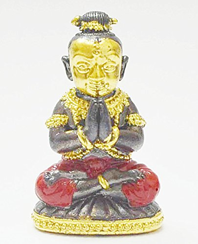 Lucky Amulets Kumaantong Na-na-thong Gold Face Krooba Subin Sumedaso Tiny Guman Kuman Thong Boy Magic Spirit Thai Wealth Amulet Lucky Gamble Hot Gift by Thai Amulets