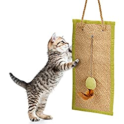 Animals Favorite Cat Scratching Pad and Furniture Protector Scratch Toy, Foldable