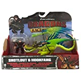 Dragons Race To the Edge Snotlout & Hookfang Green Version