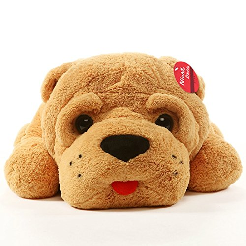Stuffed Animal Dog Pillow : Niuniu Daddy 45