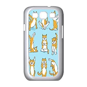Yoga Cats Customized Cover Case for Samsung Galaxy S3 I9300,custom phone case ygtg572146 by icecream design