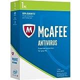 Software : McAfee MAB17EMB1RAA AntiVirus 2017 1 PC