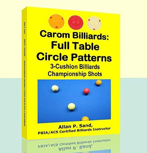 Carom Billiards: Full Table Circle Patterns: 3-Cushion Billiards Championship - 3 Cushion Billiard