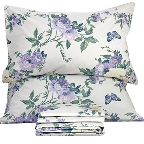 Queen's House Egyptian Cotton Bed Set Vintage Butterfly Bed - Sheets Queen Vintage Bed